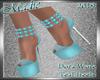 !a Dora Wore Teal Heels
