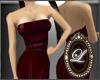 LIZ-NK bridesmaid dress