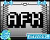 🎀 AFK Headsign