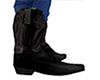 Black Cowboy Boots (M)