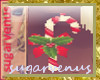 *Sv Candy Cane Earrings