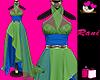 R👗 African Queen Gown