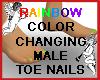 Colorchange Male ToeNail