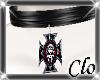 Skulled Iorn Cross
