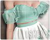 [Is] Spring Dress Aqua