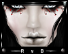 RVB JEN Lashes/Red Drips
