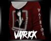 (V!) Waifu Layered Red