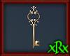 Fancy Key Decor Gold