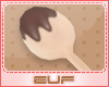 E~ cooking spoon n choco