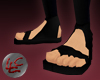 Blood Moon Ninja Sandals