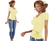 TF* Yello Top & Jeans