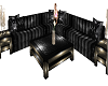 Black couch set w poses