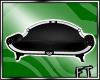 Blk&Slvr French Sofa[FT]