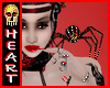 Spider Jeweled Ruby Gold