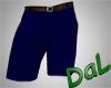 Cargo Shorts Dark Blue