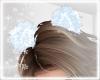 Hair PomPom White