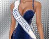Miss Estonia sash