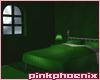 Relaxing Green Bedroom