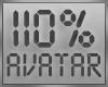 ! 110% Avatar Scaler