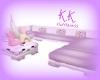 Kawaii Big Purple Couch