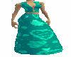 teal valentine dress