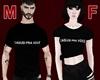 J-T-Shirt Phrases M/F