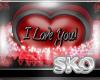 *SK*ILU VDAY HEART