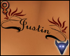 Justin back tattoo (f)
