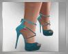 Zapato Turquesa