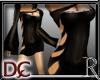 *R Laser Black Dress