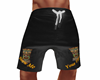 mens board shorts black