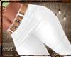 K-White Pants