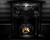 PVC Goth Fireplace