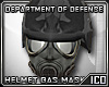 ICO Gas Mask + Helm M