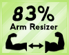 Arm Scaler 83%