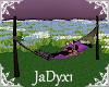 Purple Cuddle Hammock