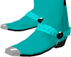 ! ! ! teal boots