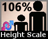 Scale Height 106% F A