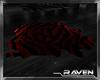 Red Zebra Rug