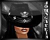 Cowboy Leather Skull Hat