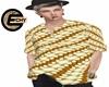 (E) Gold Batik