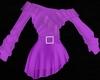 Purple Frill Dress