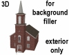 3D Background Church