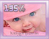Kids head scaler 135%