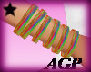 Colorful Rave Bangles