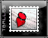 Reflection Heart Stamp