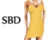 *SBD* Golden Dress