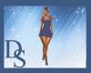 Indigo Dress RL