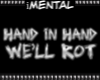 iM Rot Hand n Hand BADGE