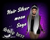 Hair Silver moon Saya